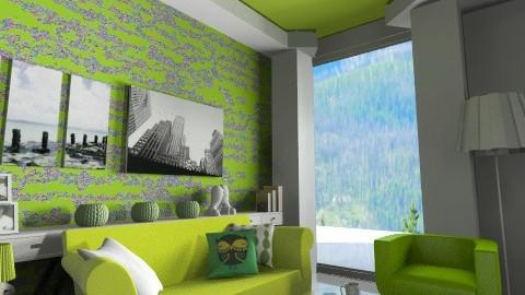 simple lime idea - Living room - by mrsopeth