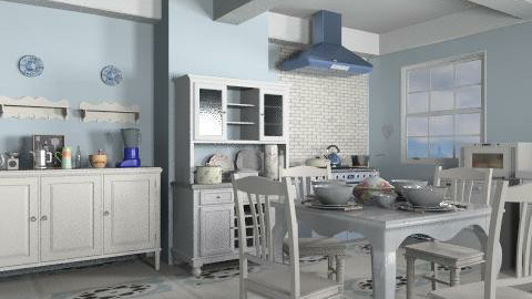 White country - Country - Kitchen - by milyca8