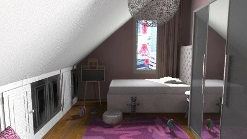 Pazsit gyerekszoba2 - Kids room - by Gubacsi Judit