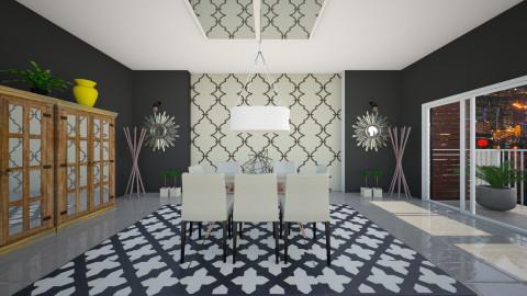 esl - Dining room - by sorangeld