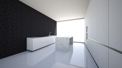 long kitchen - Kitchen - by Vlad Silviu
