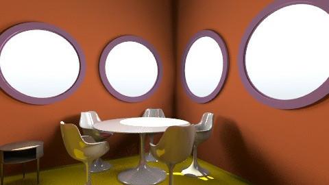 pro  - Glamour - Dining room - by lidia_tsyryuk