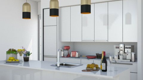 Kitchen_Zoom - Modern - by ayu DR