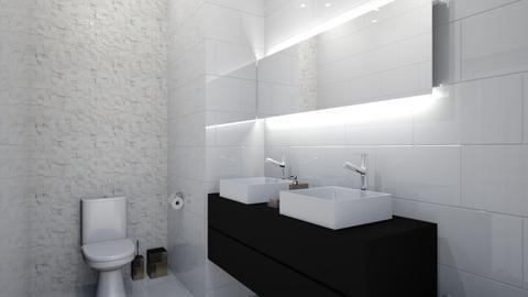 banheiro marcos - Bathroom - by Camilla Makenccy