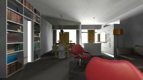 casa chica new  - Living room - by ARMIDA 1