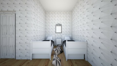 white - Modern - Kids room - by brontebee