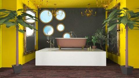 taste of luxury - Glamour - Bathroom - by cabalian