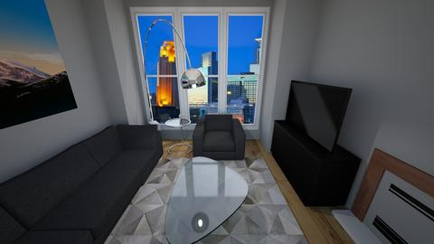 Rick Ketchum 2 - Living room - by chelsealaportasmith