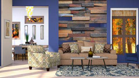 Rustic Contemporary  - Modern - Living room - by Jessica Fox