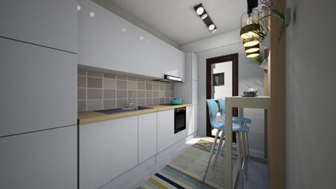 bucatarie Cristina Colcea - Kitchen - by Flori Santa