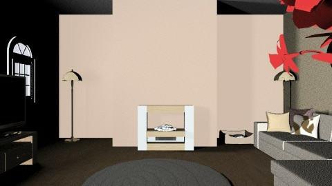 cream livingroom - Modern - Living room - by danielle87terry87