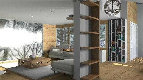 Scandi - Minimal - Living room - by camilla_saurus