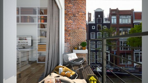 amsterdam small apartment - Garden - by leger1234567890