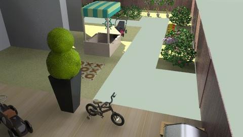 banjavčićeva terasa-vrt18pr2. - Eclectic - Garden - by tatjana_novak
