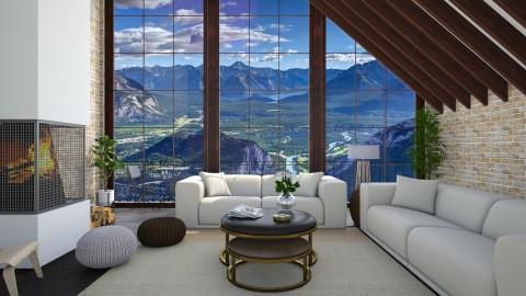 Banff - Living room - by martinabb