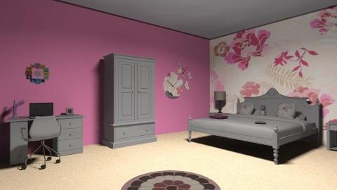 Avrils Palace - Feminine - Bedroom - by AoifeK