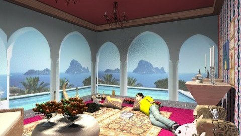egypt room - Glamour - Living room - by Ulie