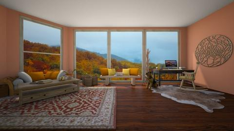 The Fall of Summer - Rustic - Living room - by Piper Nader