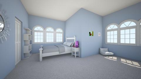 My Bedroom  - Bedroom - by JaguarQueen