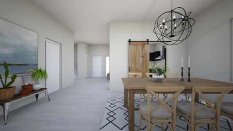 ett hus - Retro - Dining room - by wilmaskold