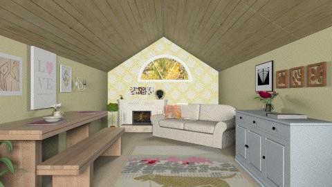 Modern Longhouse - Office - by fenwayb