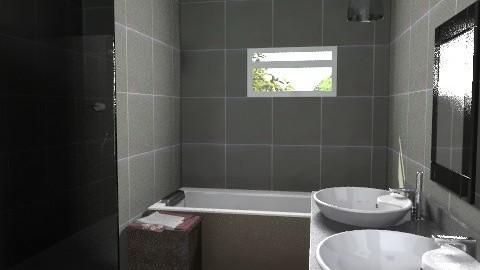 Master bathroom - view2 - Modern - Bathroom - by lucian_serpi