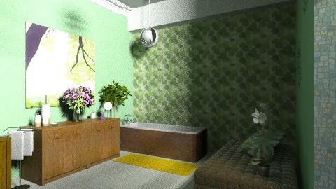 Florida - Minimal - Bathroom - by JCjulia