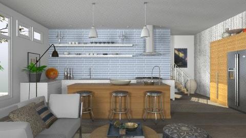 Urban Kitchen - Modern - Kitchen - by LizyD
