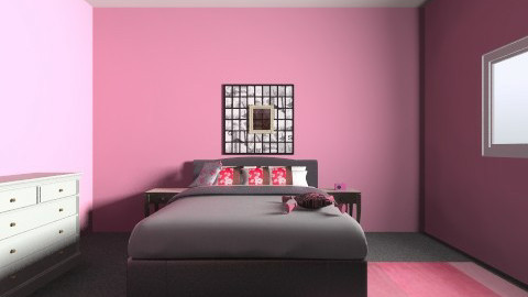PINKROOM - Bedroom - by BlondeGoode