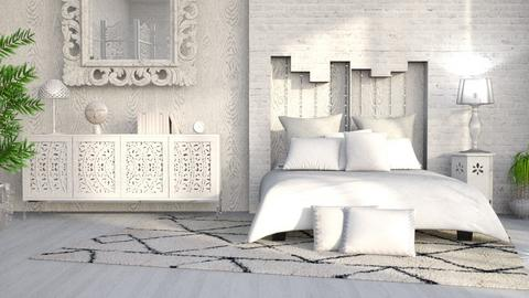 M_ White - Bedroom - by milyca8
