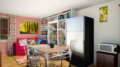 B side - Dining room - by Gabriela Vaca Pliego