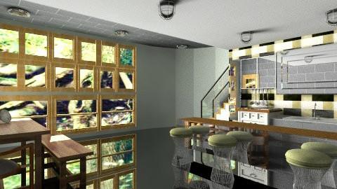 Kitchen under - Kitchen - by jennielreid