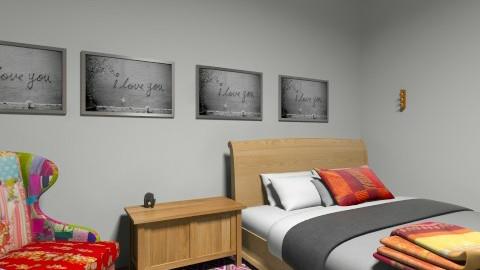 sweet  dreams  - Retro - Bedroom - by haleyparkes
