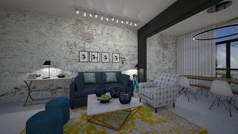 LIVING ROOM NEW ROOM 1  - by oshratdaniel