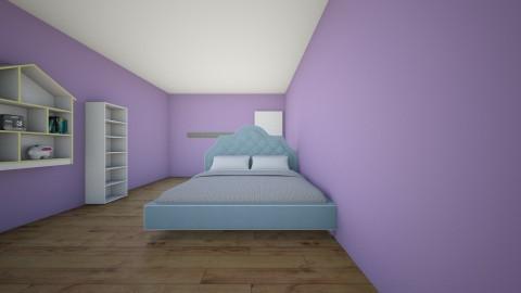my room - Bedroom - by ISHITHA TELUGUNTLA