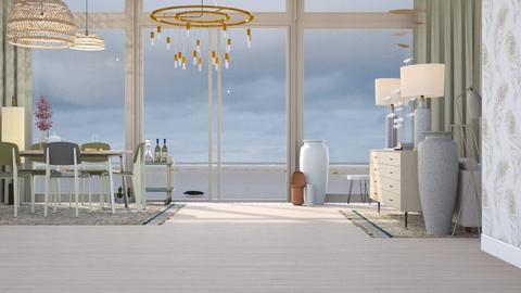 Beach house - Modern - Living room - by HenkRetro1960