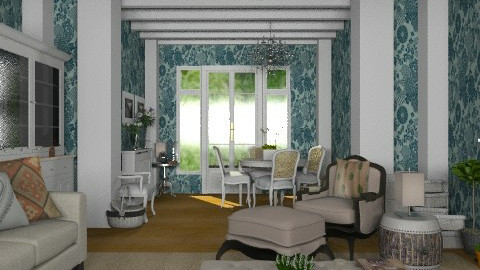 Wave of Charm - Classic - Living room - by Carliam