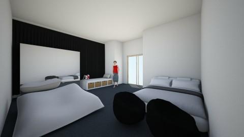 Simple bedroom_2 - Modern - Bedroom - by Andrea Puspa Melinda