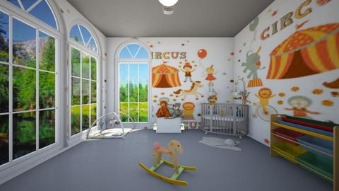 CIRCUS - Kids room - by Laura Drouhard