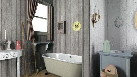 country bathroom - Bathroom - by rosiedoll