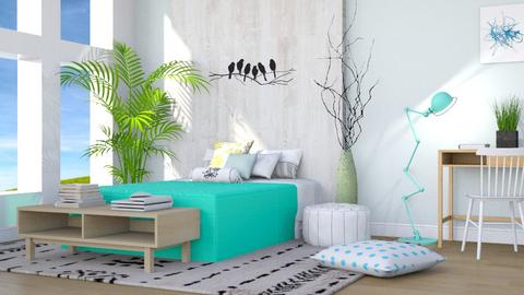 Hello Spring - Modern - Bedroom - by millerfam