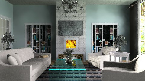 A Take on Tradition - Vintage - Living room - by ovchicha