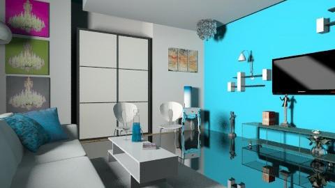 Luxurious Living Room - Glamour - Living room - by NaMn Mehta