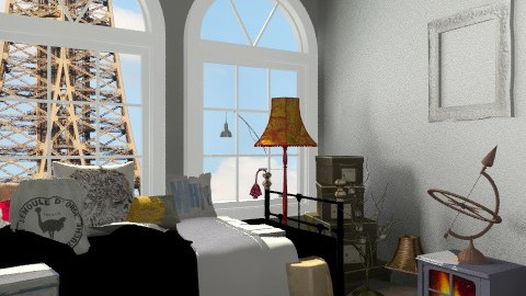 just moved in! - Rustic - Bedroom - by Uh Huh