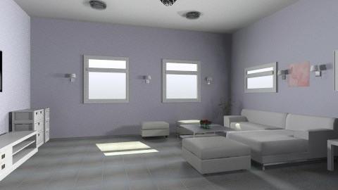 Sleek Living - Minimal - Living room - by wonderjamm
