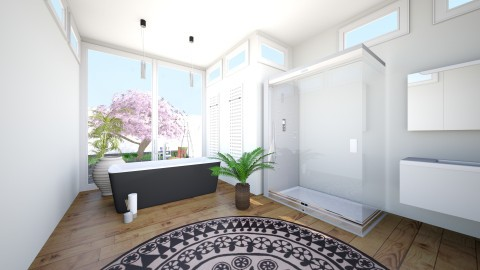 Badezimmer 2 - Bathroom - by retorocket