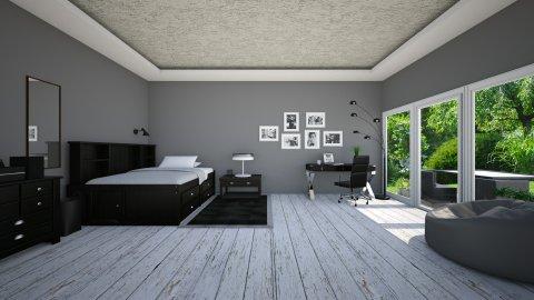 BOY ROOM - Bedroom - by MadebyG