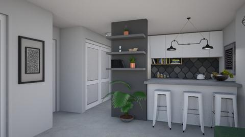 For adillhunt II - Eclectic - Kitchen - by Theadora