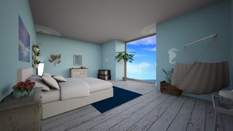 sea side - Bedroom - by RoseGold417