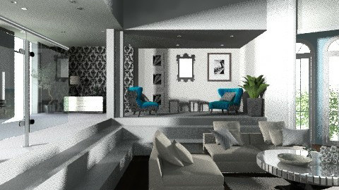 Sweet Blue - Eclectic - Living room - by bia_freitas